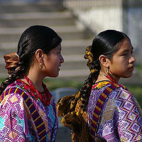 Mayan Girls. Photo by Juantara